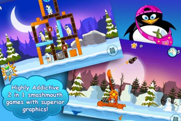 Crazy Penguin Assault Free Ekran Görüntüsü