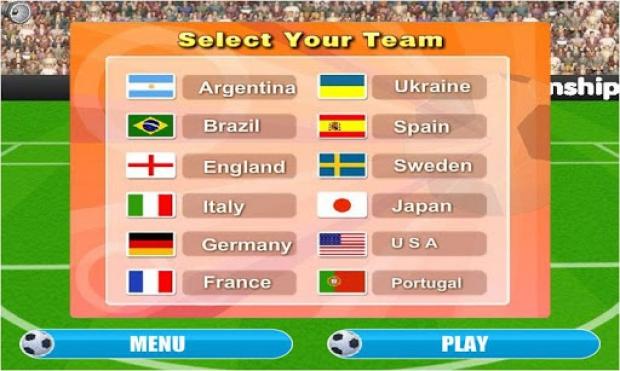 Euro 2013 Kick off Ekran Görüntüsü