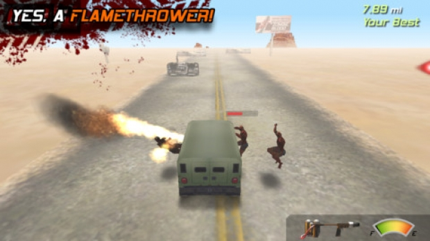 Zombie Highway Ekran Görüntüsü