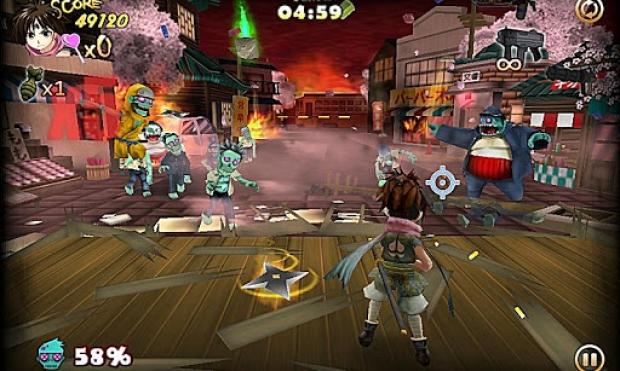 ZombiePanic in Wonderland FREE Ekran Görüntüsü